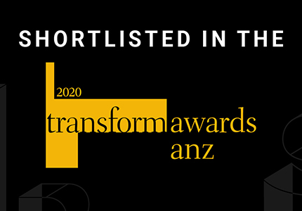 Transform ANA 2020 Shortlist